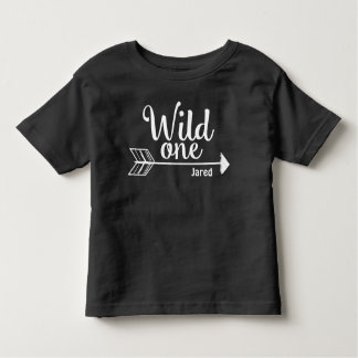 Wild one arrow Personalized 1st birthday shirt