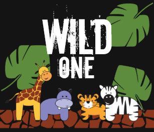 Safari 1st Birthday T-Shirts & Shirt Designs | Zazzle UK