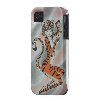 Wild One Lady Tiger Original Case-Mate iPhone 4 Cover