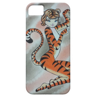 Wild One Lady Tiger Original Case For The iPhone 5