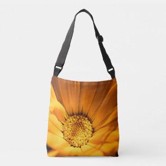 Wild Orange Daisy Crossbody Bag