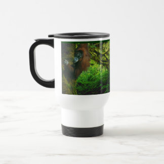 Wild Orangutan & Rainforest Wildlife-supporter Mug