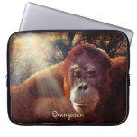 Wild Orangutan & Sunlight Wildlife Laptop Sleeve