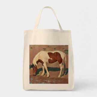Wild Paint Pony Tote Bag
