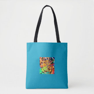 Wild pattern tote bag