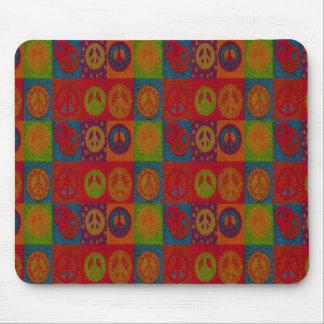 Wild Peace Signs - Mousepad