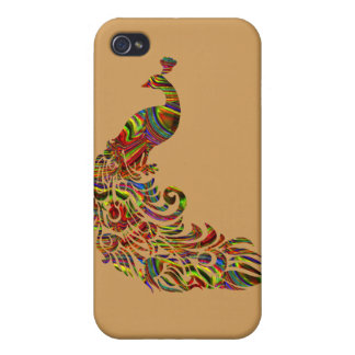 wild peacock, Nature Animal Design,  iPhone7 case Case For iPhone 4