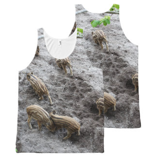 Wild piglets All-Over print tank top