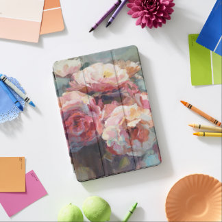 Wild Pink Roses iPad Air Cover