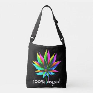 Wild Plant Leafs - neon colored + 100% vegan Tote Bag