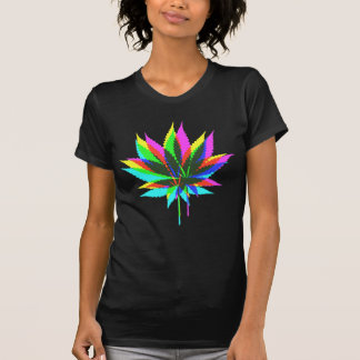 Wild Plant Leafs - neon colored + your ideas Shirt