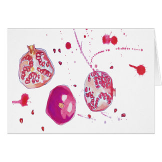 wild pomegranates card