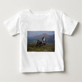 Wild Ponies Baby T-Shirt