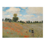 Wild Poppies, near Argenteuil Postcard