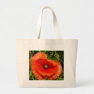 Wild poppy bags