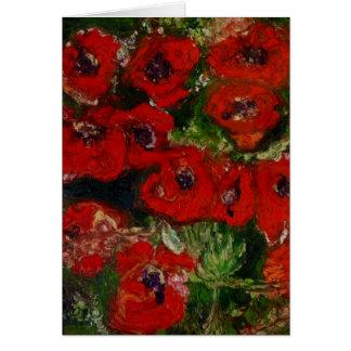 Wild Poppy card