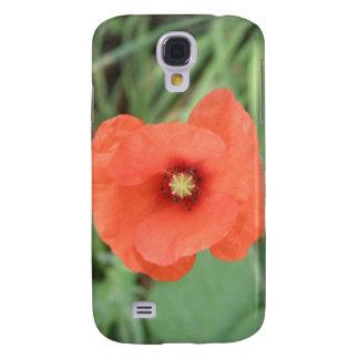 Wild Poppy Flower  Galaxy S4 Case