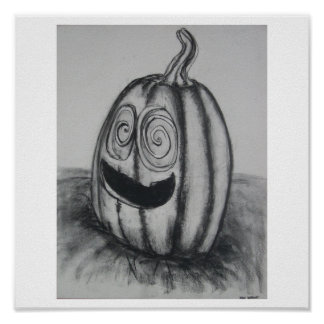 Wild Pumpkin Poster