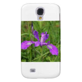 Wild Purple Iris Galaxy S4 Cover