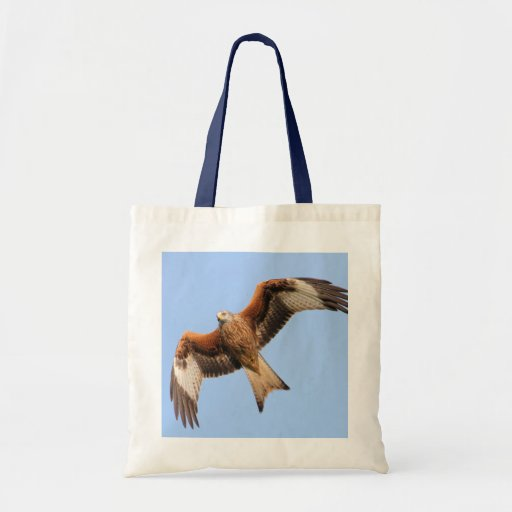 Wild Red Kites Canvas Bag
