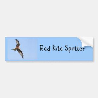 Wild Red Kites Car Bumper Sticker