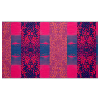 Wild Red Weed Fabric