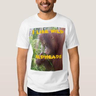 Wild Redhead Girlfriend Humor T Shirts
