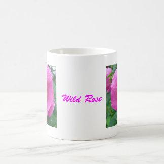 Wild Rose after the Rain Basic White Mug
