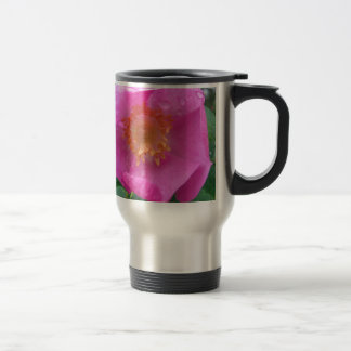 Wild Rose after the Rain Stainless Steel Travel Mug