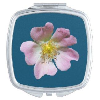 Wild Rose Compact Mirror