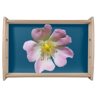 Wild Rose Serving Tray