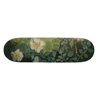 Wild Roses by Vincent Van Gogh Skate Board Decks
