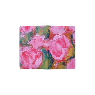 Wild Roses Painted Journal
