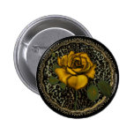 Wild Roses Pinback Button