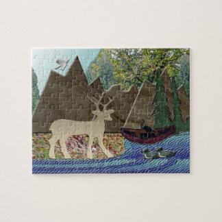 Wild Rural Animals Jigsaw Puzzle