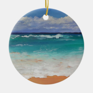 Wild Seascape Christmas Ornament