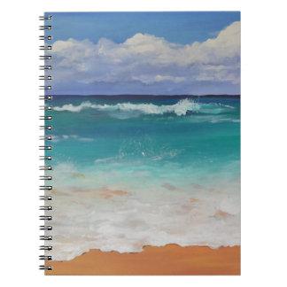 Wild Seascape Spiral Notebooks