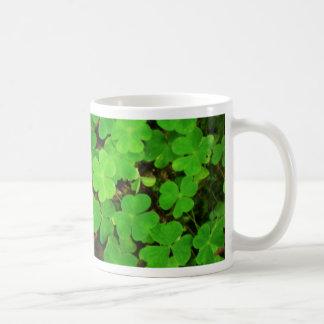 Wild Shamrocks Coffee Mug