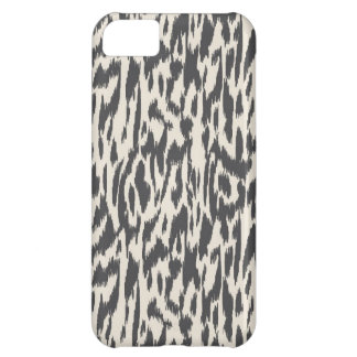 Wild Side-Black & Cream iPhone 5C Case
