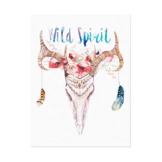 """""""Wild Spirit """" Canvas Print"""
