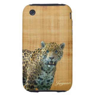 Wild Spotted Jaguar & Papyrus iPhone Case