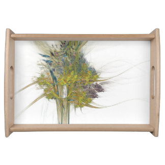 WILD SPRING Morning Bouquet Serving Tray