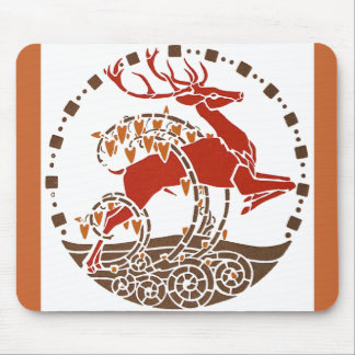 Wild Stag Mouse Pad