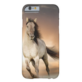 Wild Stallion Running In Sunset Barely There iPhone 6 Case