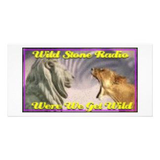 Wild stone Radio Photo Card