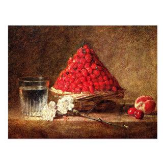 Wild Strawberries by Jean Simeon Chardin Postcard