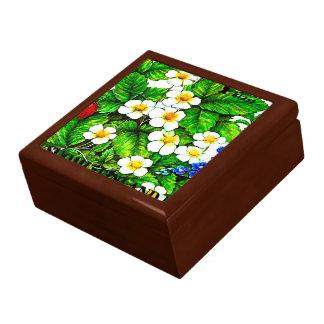 Wild strawberries fragaria vesca gift box