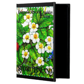 Wild strawberries fragaria vesca powis iPad air 2 case