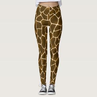 Wild Style Giraffe Skin All-Over Pattern Leggings