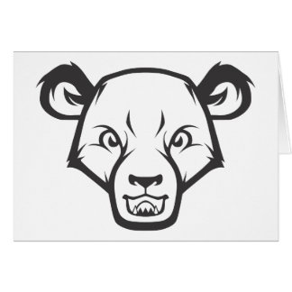 Wild Sun Bear Card